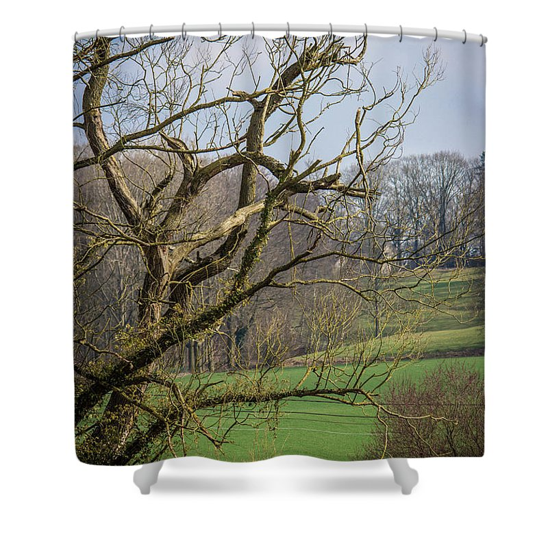 Countryside In Belgium - Shower Curtain