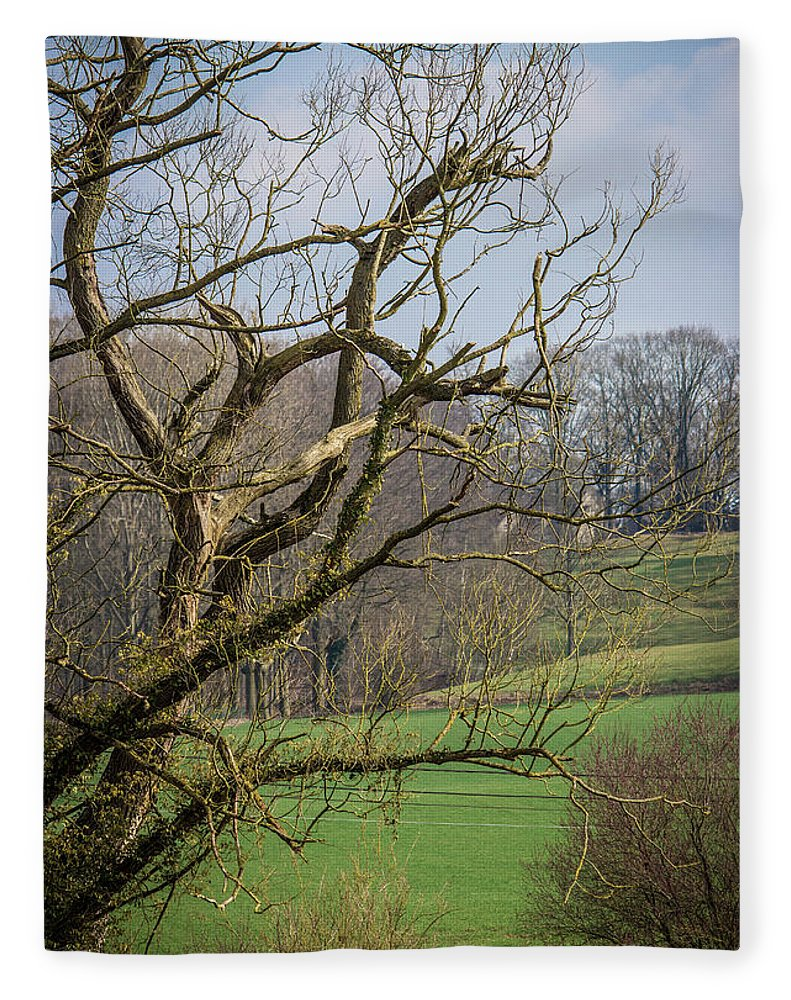 Countryside In Belgium - Blanket