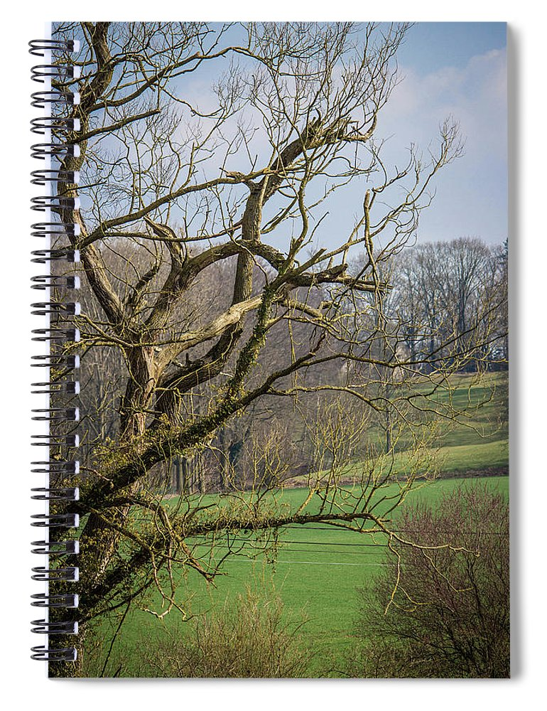 Countryside In Belgium - Spiral Notebook