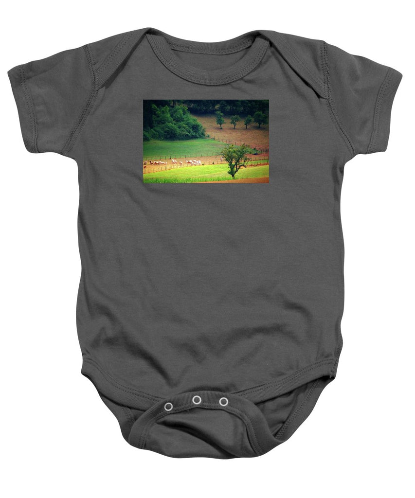 Countryside Landscape - Baby Onesie