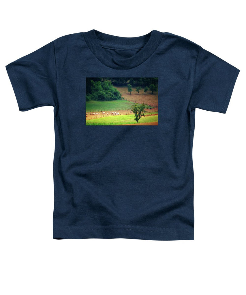 Countryside Landscape - Toddler T-Shirt
