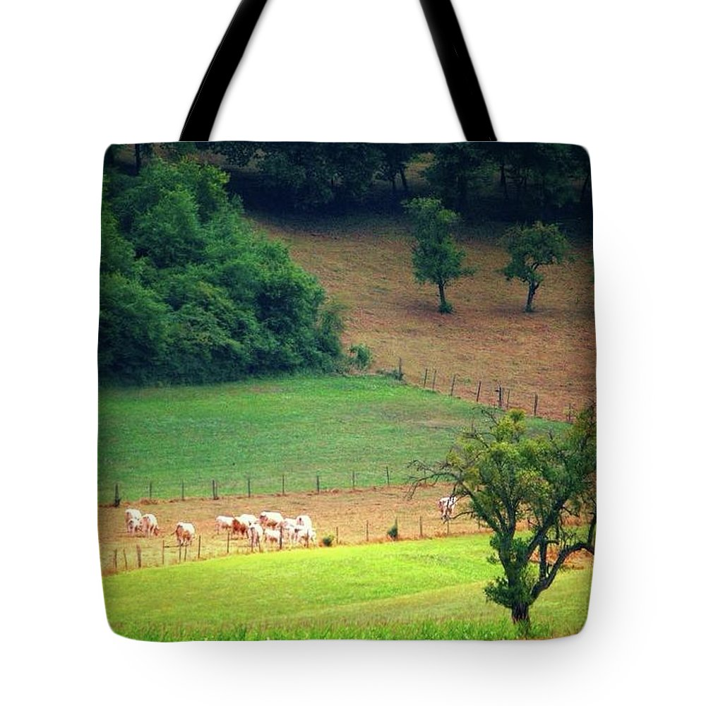 Countryside Landscape - Tote Bag