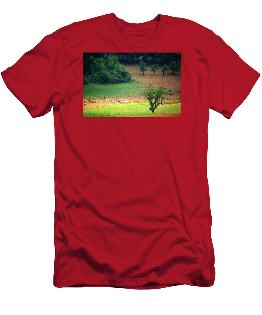 Countryside Landscape - Men's T-Shirt (Athletic Fit)