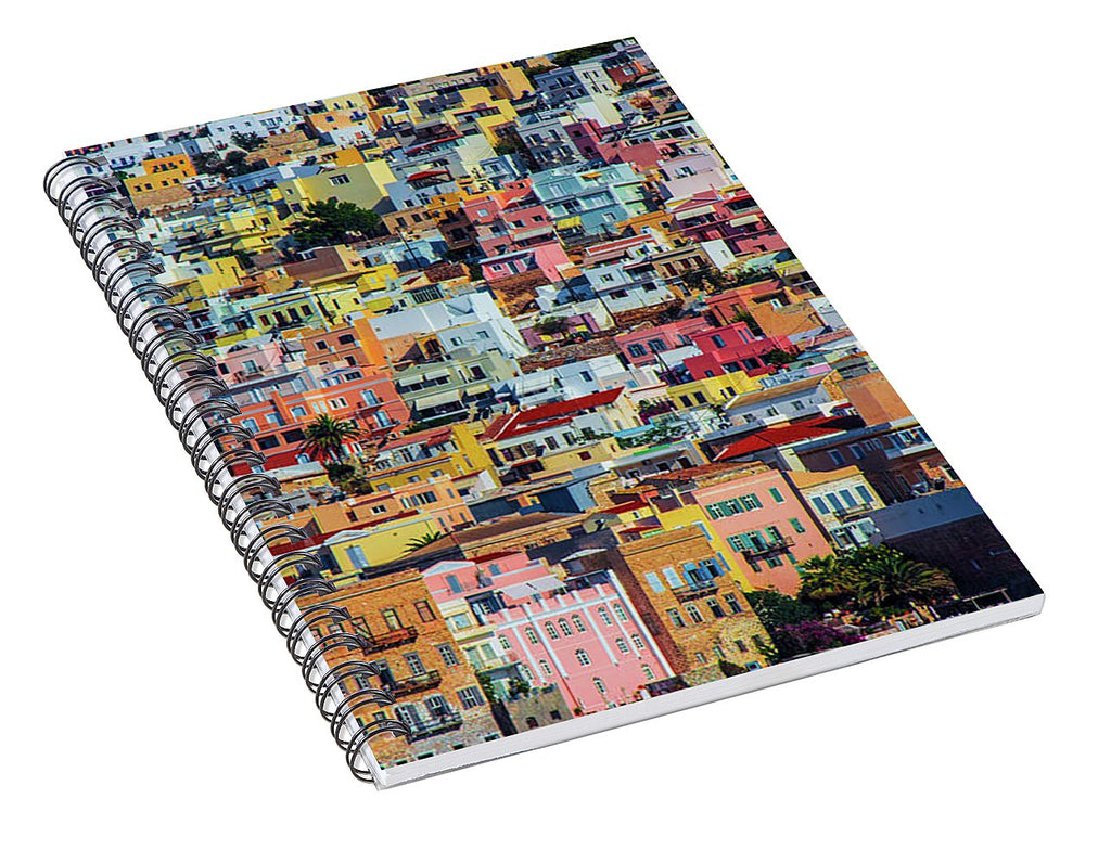 Cyclades Greece  - Spiral Notebook