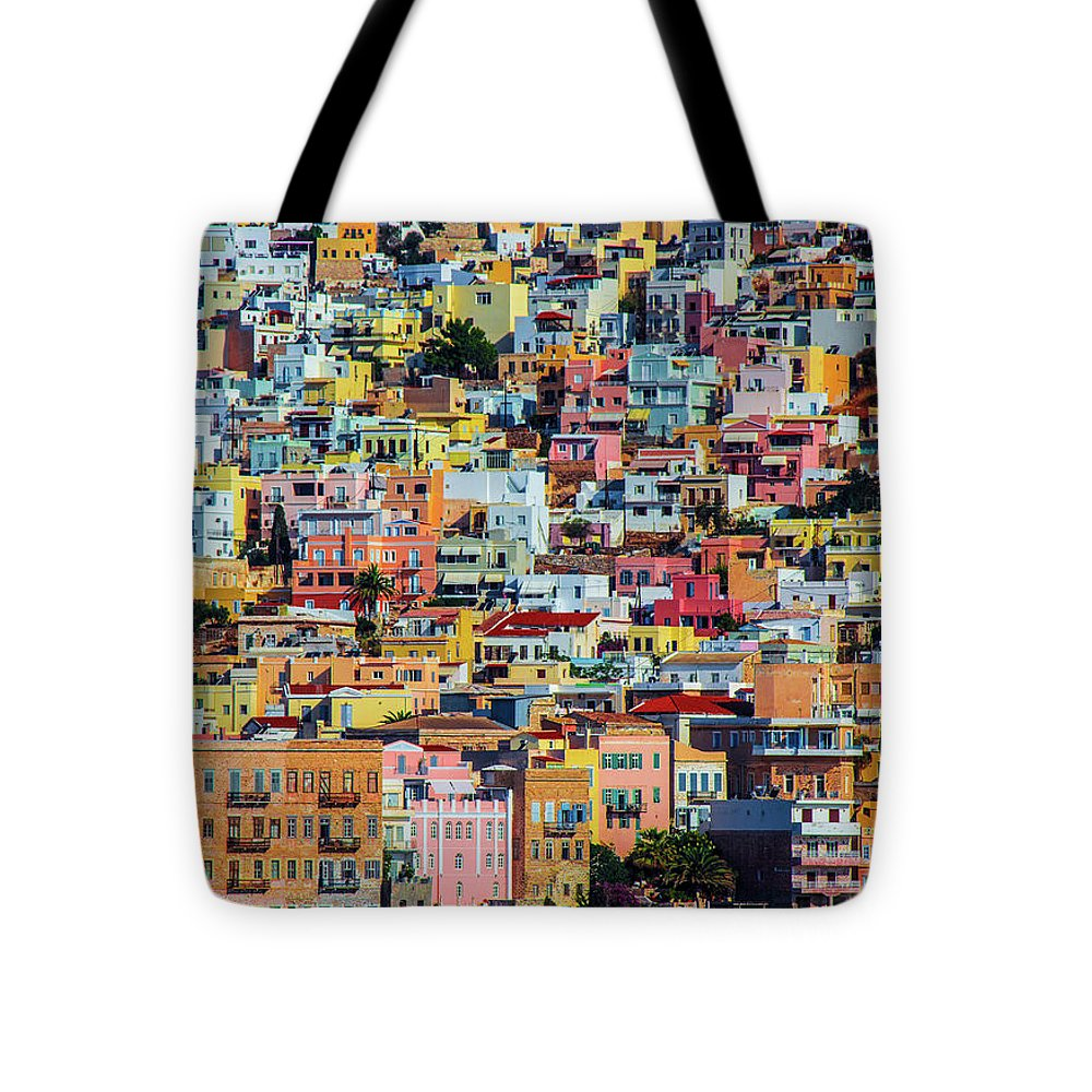 Cyclades Greece  - Tote Bag
