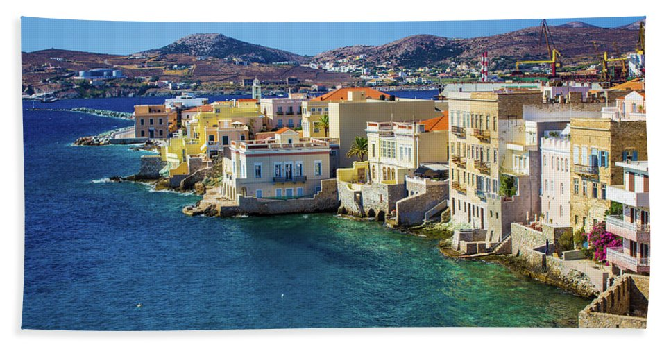 Cyclades Island - Bath Towel