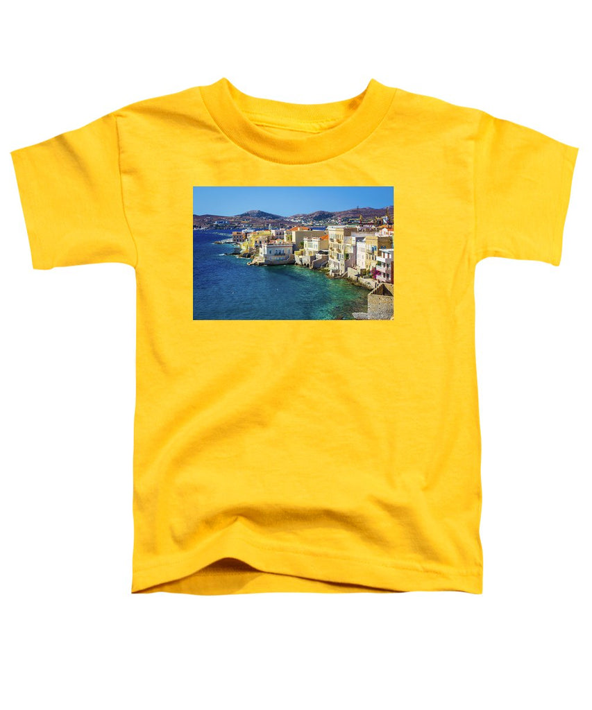 Cyclades Island - Toddler T-Shirt