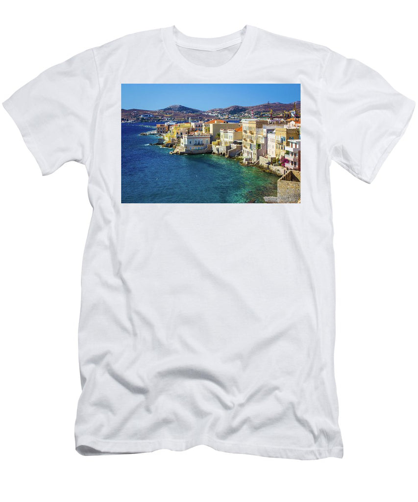 Cyclades Island - Men's T-Shirt (Athletic Fit)
