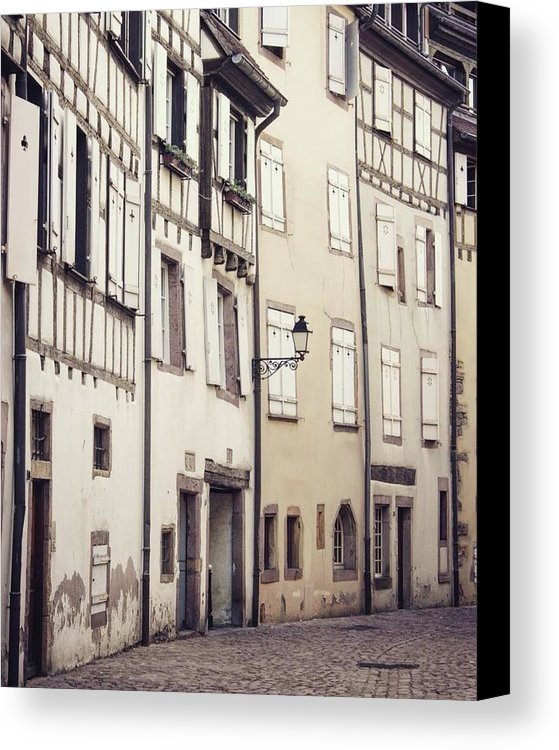 Empty Streets - Canvas Print