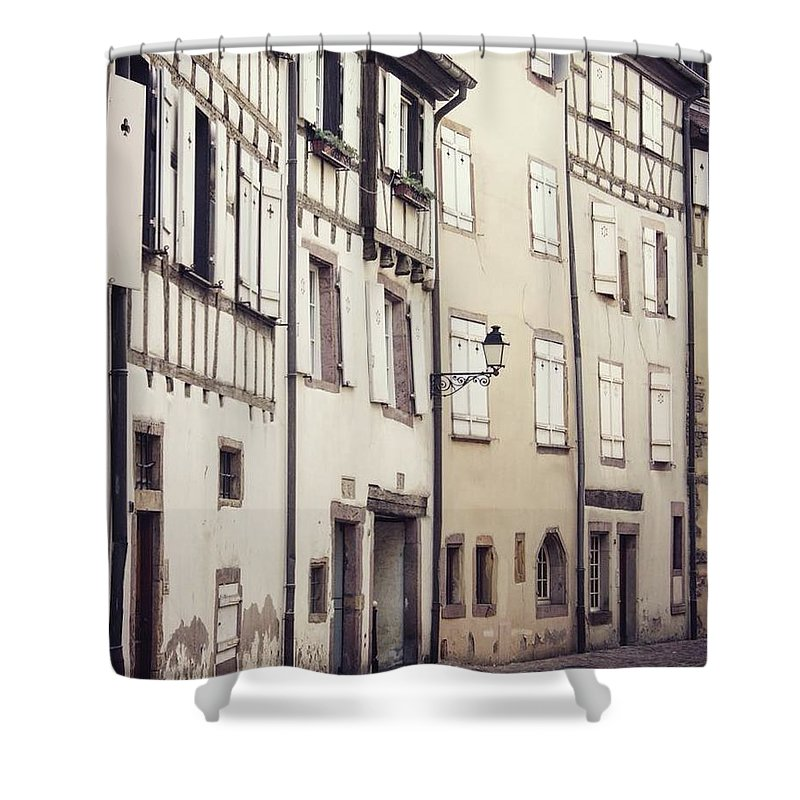 Empty Streets - Shower Curtain