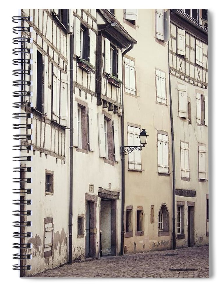 Empty Streets - Spiral Notebook