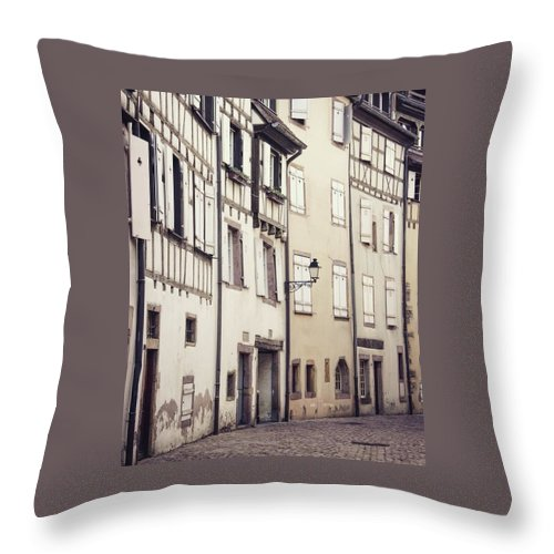 Empty Streets - Throw Pillow