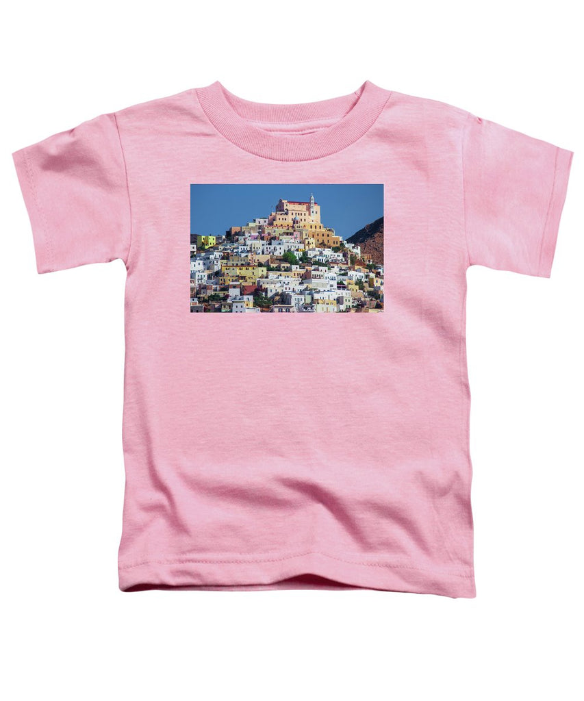 Ermoupolis, Cyclades Greece - Toddler T-Shirt