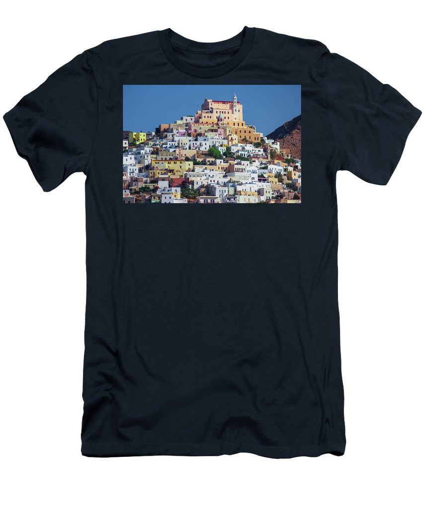Ermoupolis, Cyclades Greece - Men's T-Shirt (Athletic Fit)