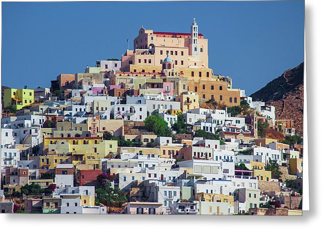 Ermoupolis, Cyclades Greece - Greeting Card