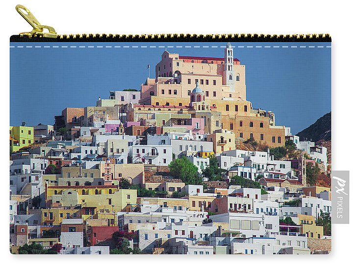Ermoupolis, Cyclades Greece - Carry-All Pouch