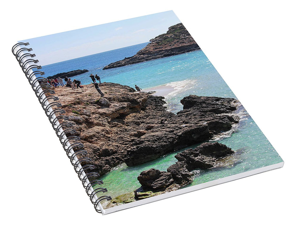 Fabulous Malta  - Spiral Notebook