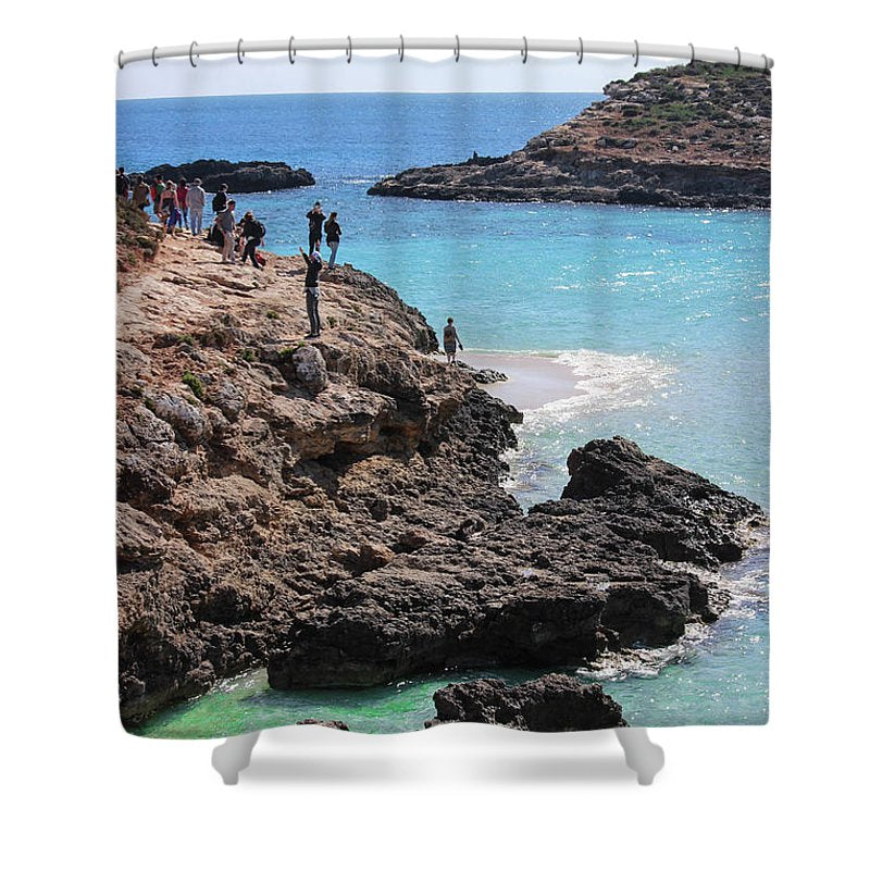 Fabulous Malta  - Shower Curtain