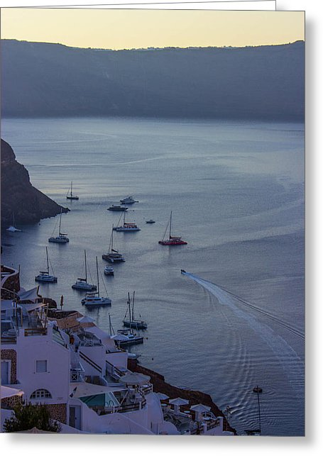 Fabulous Santorini - Greeting Card