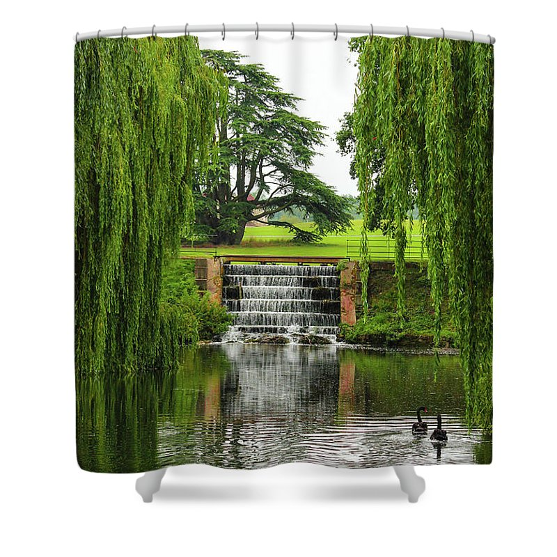 Fairy-tale View - Shower Curtain