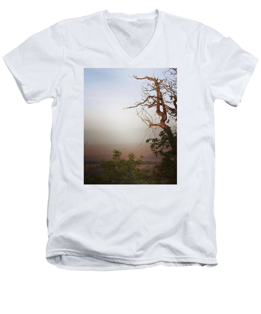 Foggy Morning - Men's V-Neck T-Shirt