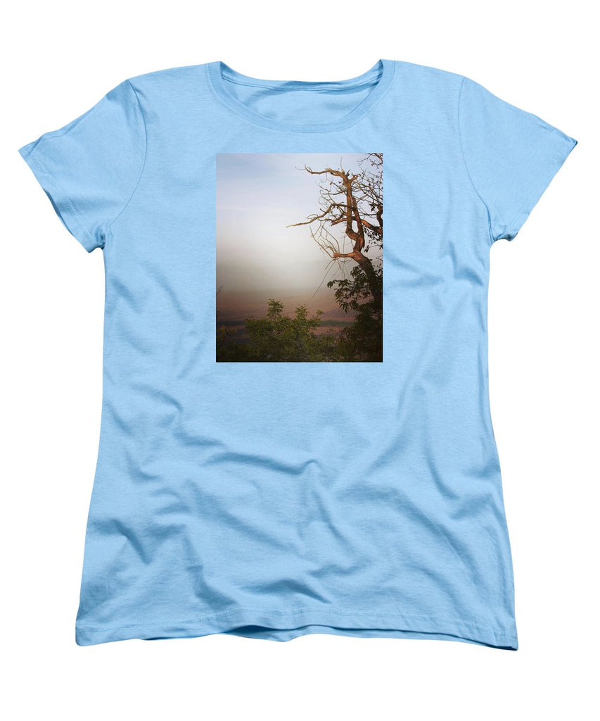 Foggy Morning - Women's T-Shirt (Standard Fit)