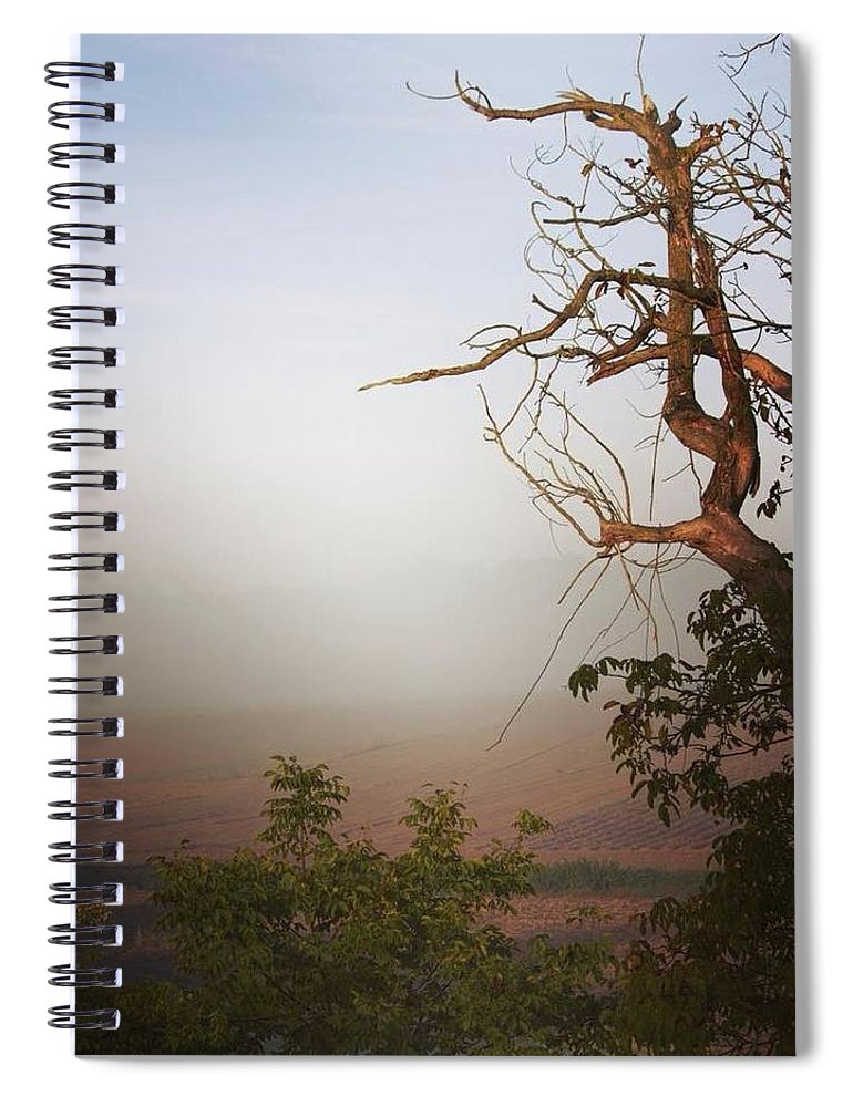 Foggy Morning - Spiral Notebook