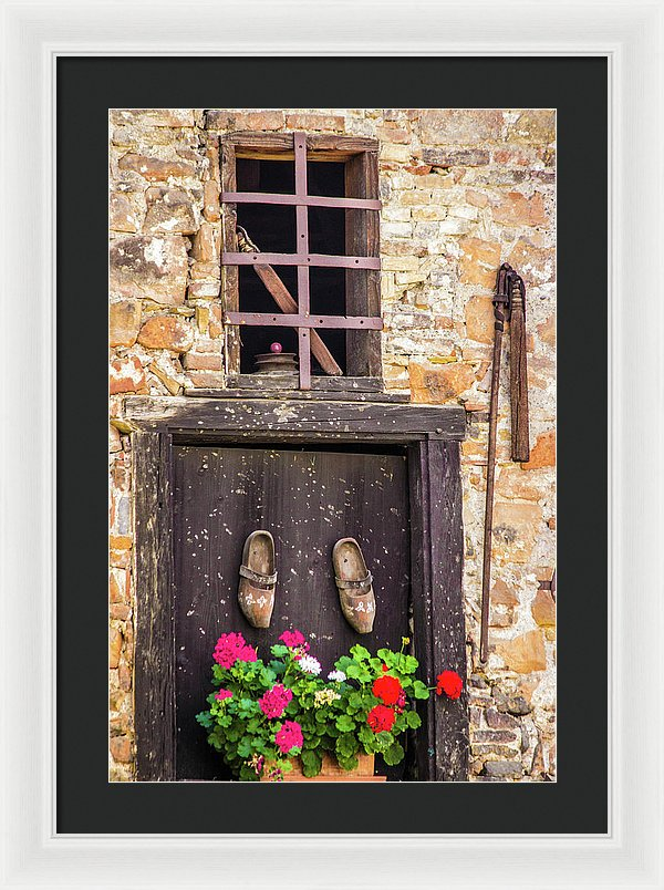 French Moments - Framed Print