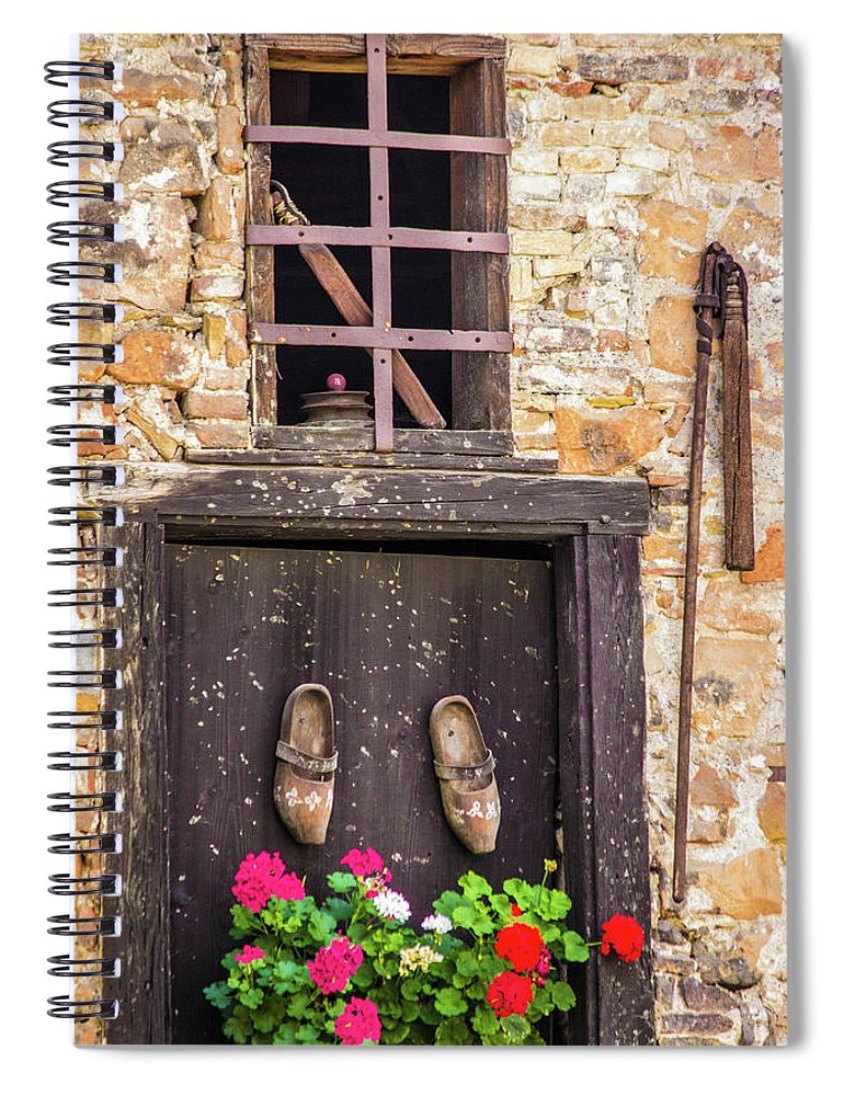 French Moments - Spiral Notebook