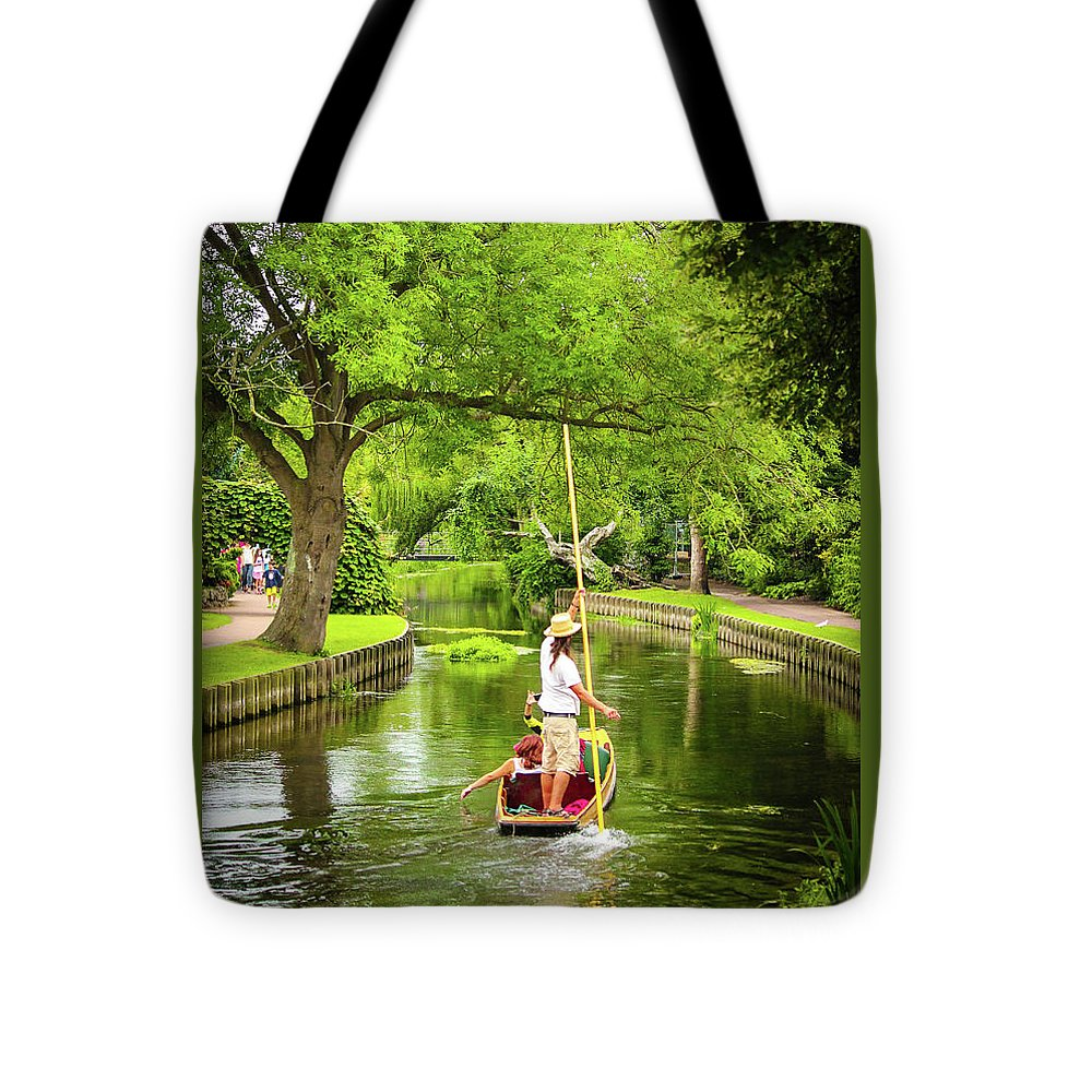 Gondola Ride Down The River - Tote Bag