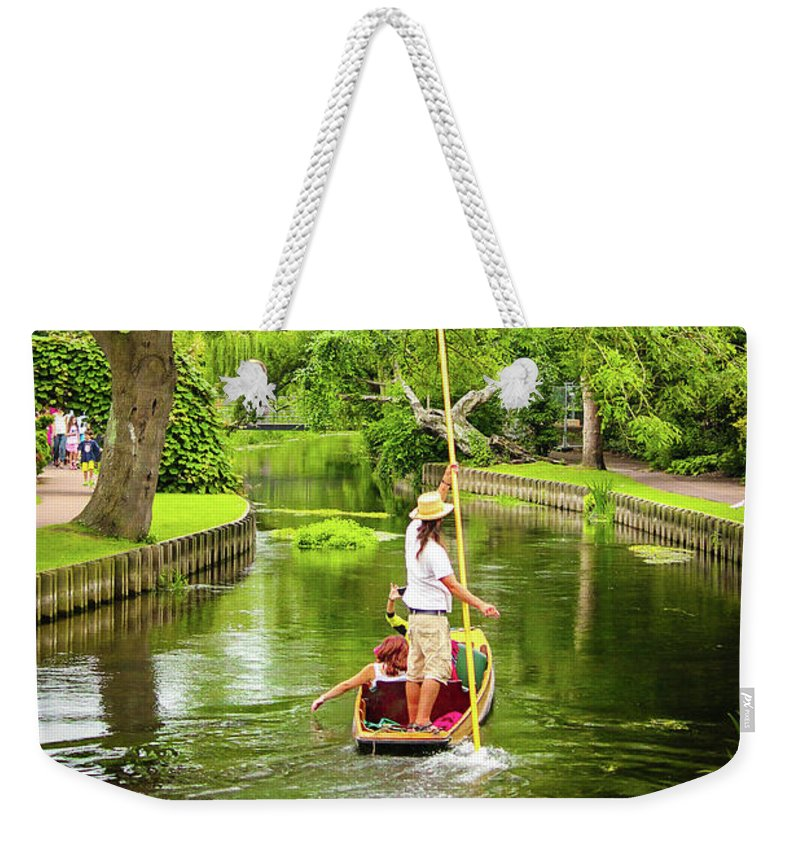 Gondola Ride Down The River - Weekender Tote Bag