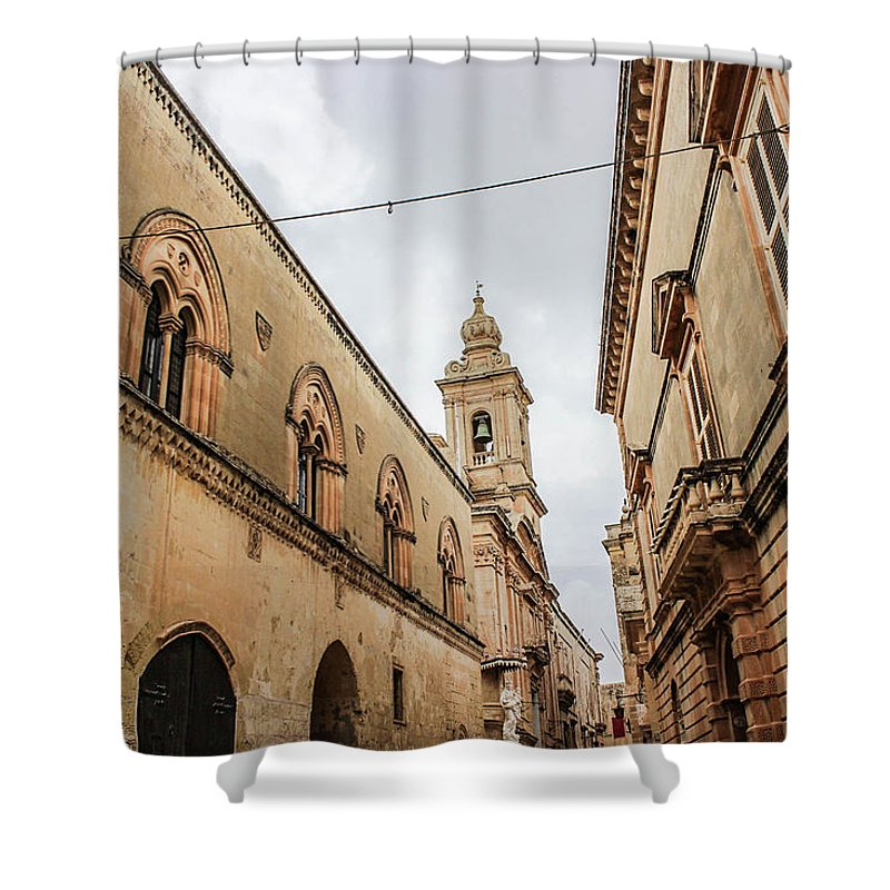 Impressive Mdina Malta - Shower Curtain