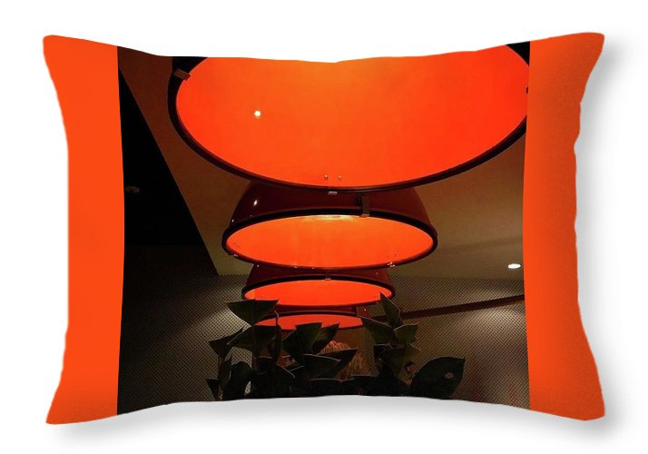 Industrial Touch - Throw Pillow