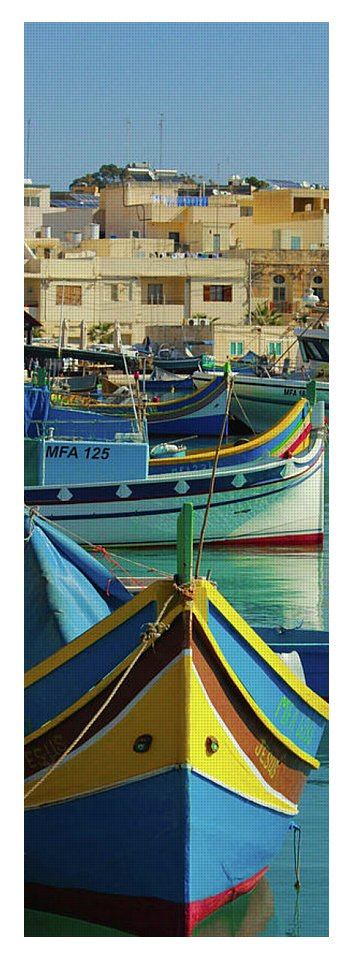 Largest Fishing Harbour Of Malta - Yoga Mat