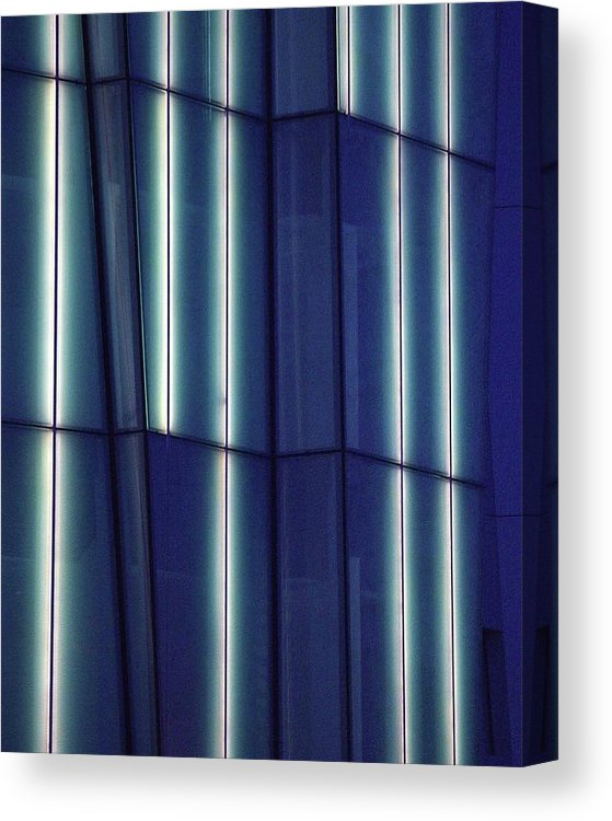 Lights And Buildings  - Canvas Print