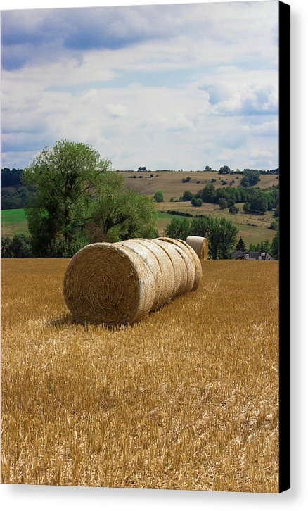 Luxembourg Countryside - Canvas Print