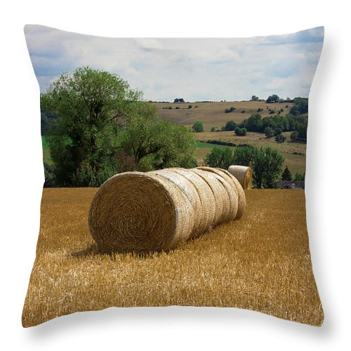 Luxembourg Countryside - Throw Pillow