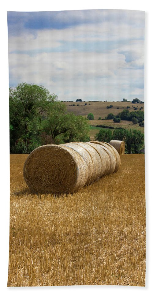 Luxembourg Countryside - Bath Towel