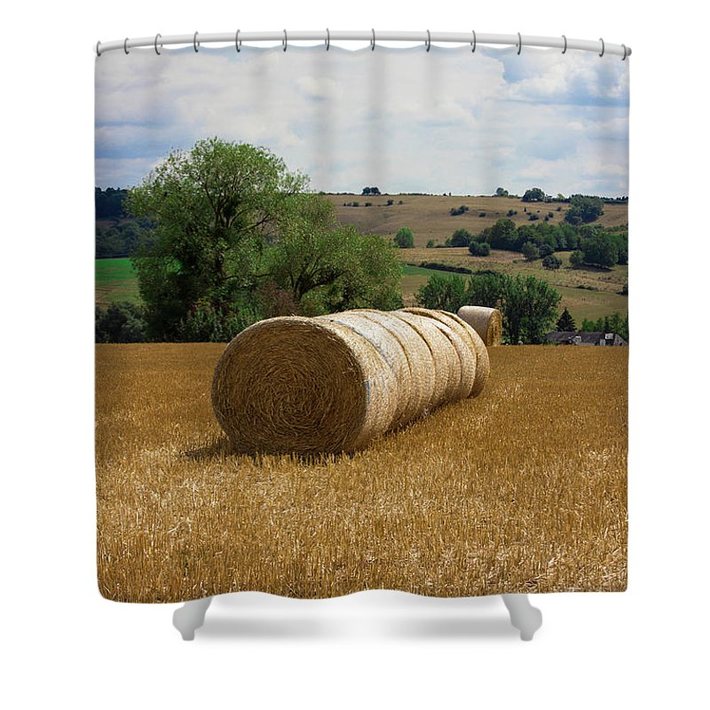 Luxembourg Countryside - Shower Curtain