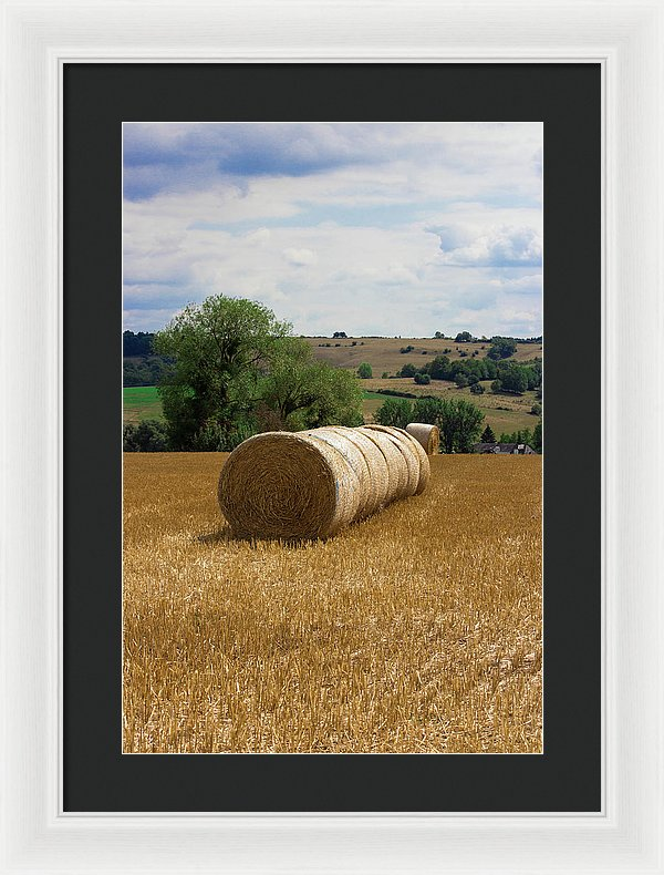 Luxembourg Countryside - Framed Print
