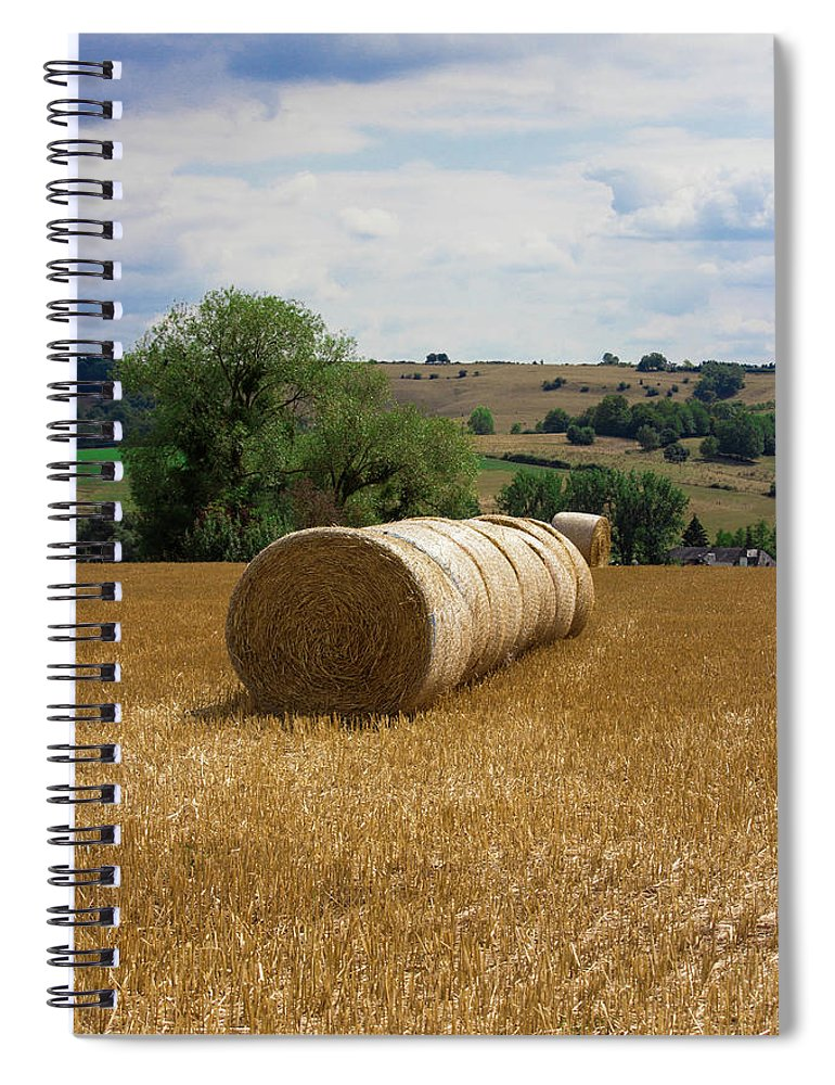 Luxembourg Countryside - Spiral Notebook