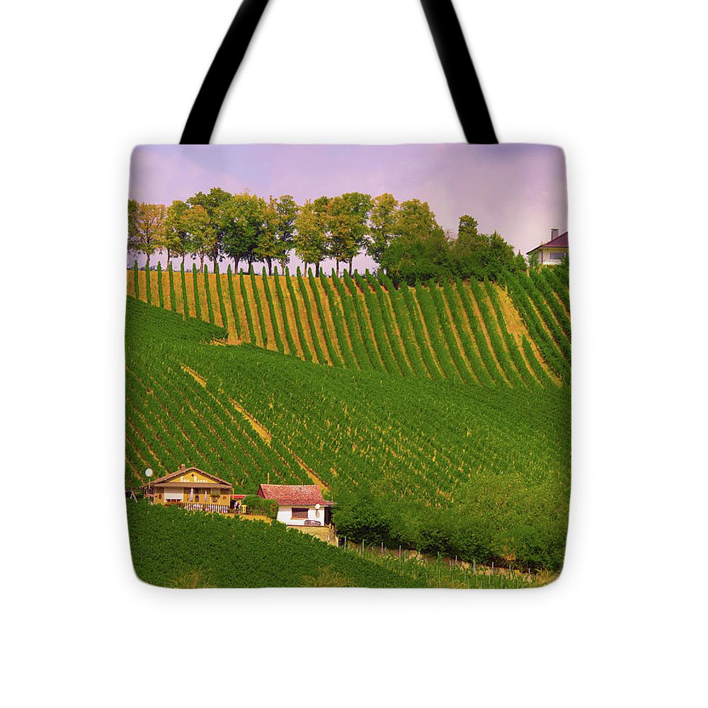 Luxembourg Vineyards Landscape  - Tote Bag