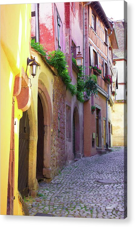 Medieval Alsace, Region In France - Acrylic Print