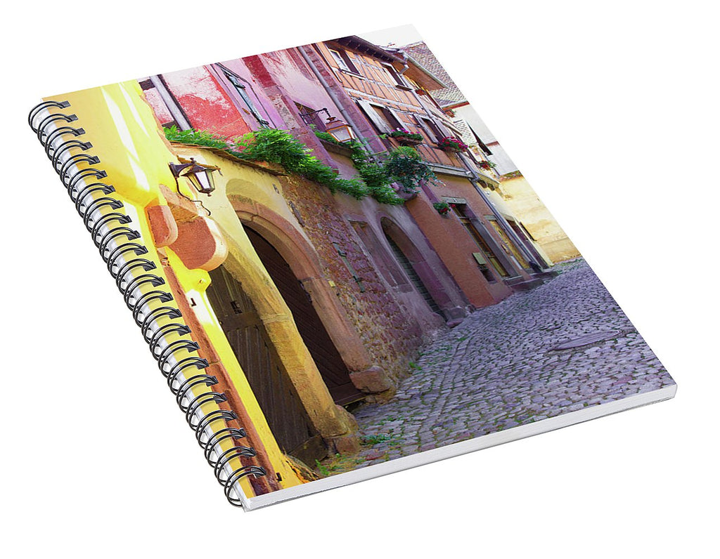 Medieval Alsace, Region In France - Spiral Notebook