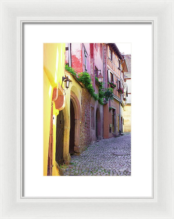 Medieval Alsace, Region In France - Framed Print