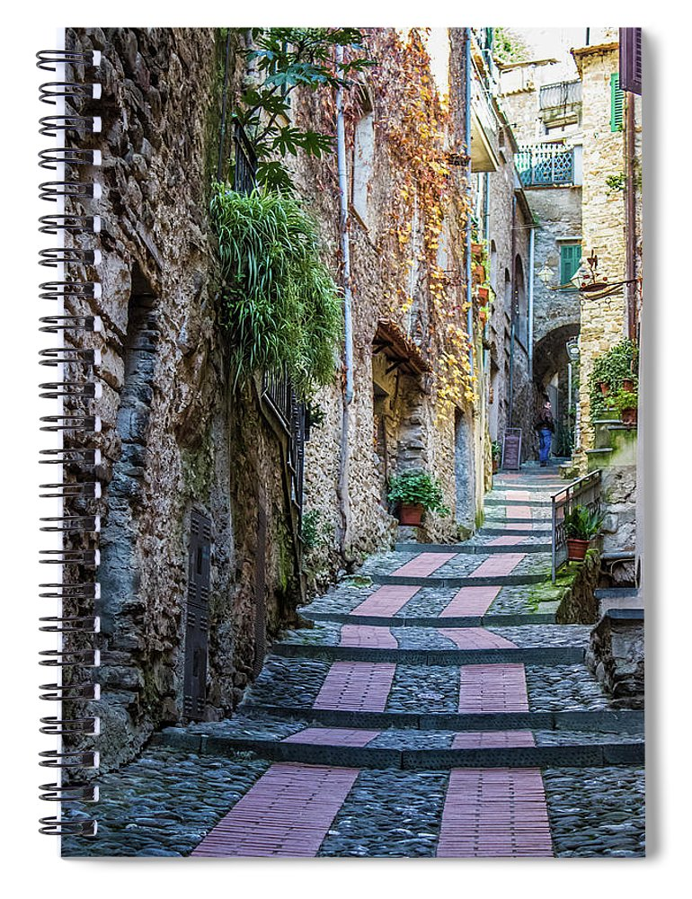 Medieval Italy  - Spiral Notebook