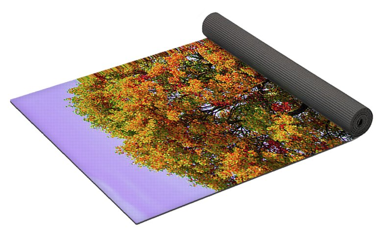 Nature In The Autumn  - Yoga Mat