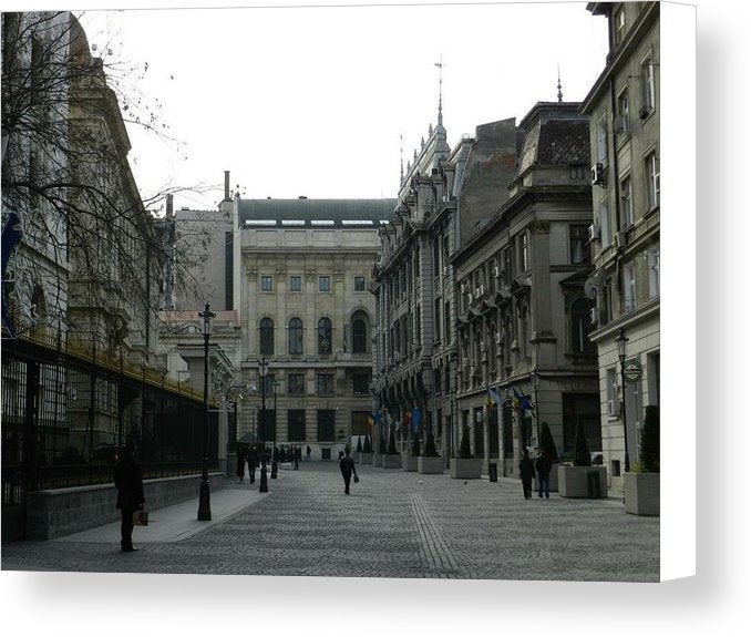 Old Bucharest - Canvas Print