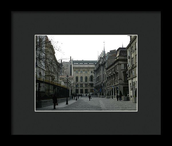 Old Bucharest - Framed Print