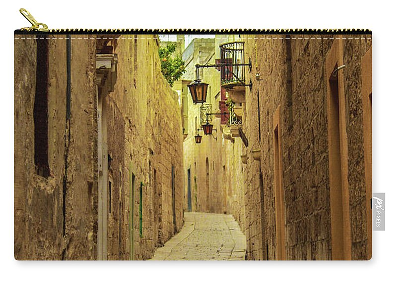 On The Streets Of Malta - Carry-All Pouch